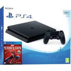 PlayStation 4 SLIM Bundle (500 Gb, Spider-Man), , Консоли